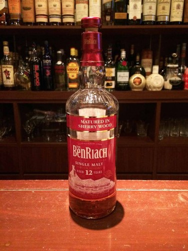 The BenRiach Sherry Wood 12年