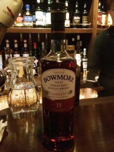 BOWMORE DARKEST 15年